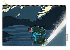 Retro Revelstoke Ski Poster Carry-all Pouch