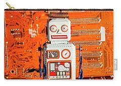 Retro Robotic Nostalgia Carry-all Pouch
