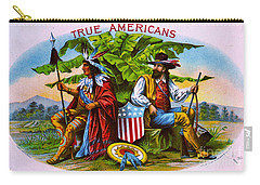 Carry-all Pouch featuring the photograph Retro Tobacco 1885 by Padre Art