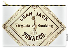 Carry-all Pouch featuring the photograph Retro Tobacco Label 1867 A by Padre Art
