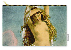 Retro Tobacco Label 1875 Carry-all Pouch by Padre Art
