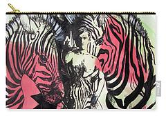 Return Of Zebra Boy Carry-all Pouch