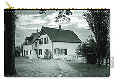 Carry-all Pouch featuring the photograph Returning From Lovers Lane by Chris Bordeleau