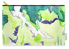 Reve De La Lune Carry-all Pouch