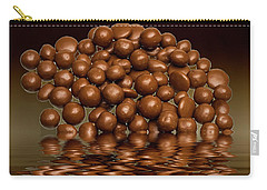 Carry-all Pouch featuring the photograph Revels Chocolate Sweets by David French