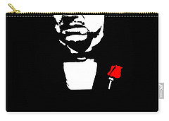 Revenge Is A Dish Best Served Cold - The Godfather Poster Carry-all Pouch
