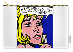 The Melody Haunts My Reverie - Roy Lichtenstein Carry-all Pouch