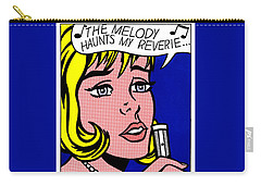 Reverie Carry-all Pouch by Roy Lichtenstein