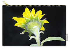 Reverse Sunflower Carry-all Pouch