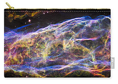 Carry-all Pouch featuring the photograph Revisiting The Veil Nebula by Adam Romanowicz