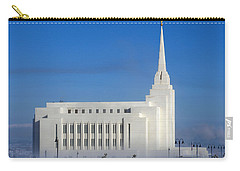 Rexburg Temple Rises Above The Mist Carry-all Pouch