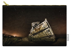 Carry-all Pouch featuring the photograph Reyes Shipwreck by Everet Regal