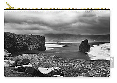 Carry-all Pouch featuring the photograph Reynisfjara by Wade Courtney
