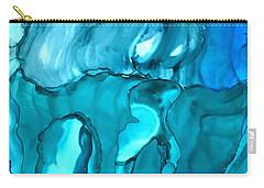 Rhabsody In Blue Carry-all Pouch