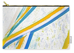 Carry-all Pouch featuring the digital art Rhapsody In Leaves No 1 by Ben and Raisa Gertsberg