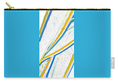 Organic Abstraction Digital Art Carry-All Pouches