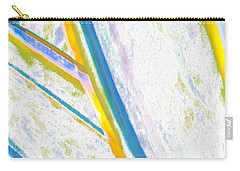 Carry-all Pouch featuring the digital art Rhapsody In Leaves No 2 by Ben and Raisa Gertsberg