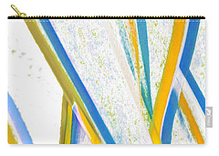 Carry-all Pouch featuring the digital art Rhapsody In Leaves No 3 by Ben and Raisa Gertsberg