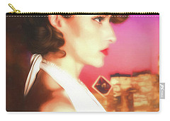Rhapsody In Profile  ... Carry-all Pouch by Chuck Caramella