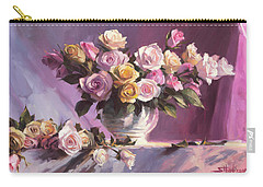 Rhapsody Of Roses Carry-all Pouch