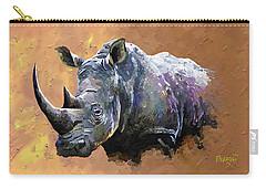 Rhino Carry-all Pouch by Anthony Mwangi