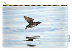 Rhinoceros Auklet Reflection Carry-all Pouch by Mike Dawson