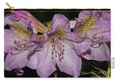 Rhododendron Bliss Carry-all Pouch by Barbara Bowen