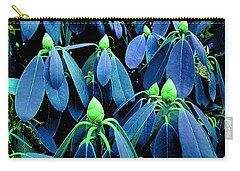 Rhododendron Buds In Spring Carry-all Pouch
