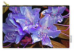 Rhododendron Glory 6 Carry-all Pouch by Lynda Lehmann
