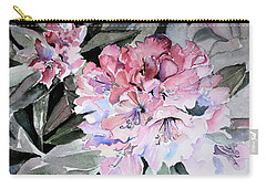 Rhododendron Rose Carry-all Pouch
