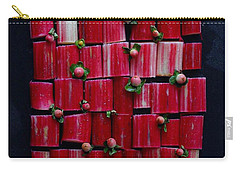Rhubarb Wall Carry-all Pouch