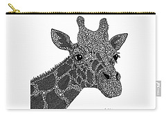 Rhymes With Giraffe Carry-all Pouch by Laura McLendon