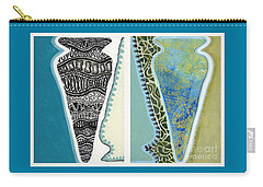 Rhythm And Rhyme Carry-all Pouch by Kerryn Madsen-Pietsch