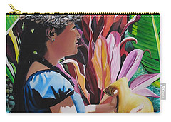 Rhythm Of The Hula Carry-all Pouch