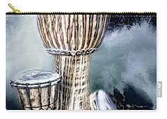 Carry-all Pouch featuring the digital art Rhythm by Pennie McCracken