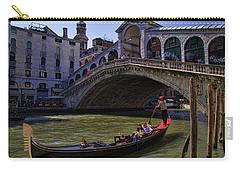 Rialto Bridge In Venice Italy Carry-all Pouch