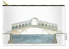 Rialto Bridge Venice Carry-all Pouch