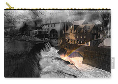 Rainbow In The Mist Carry-all Pouch by Sherman Perry