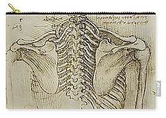 Ribcage Main Carry-all Pouch by James Christopher Hill