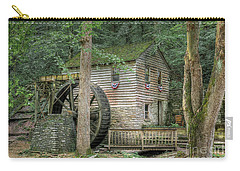 Carry-all Pouch featuring the photograph Rice Grist Mill 2017 by Douglas Stucky