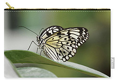 Carry-all Pouch featuring the photograph Rice Paper Butterfly - 2 by Paul Gulliver