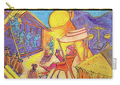 Rich Fool Parable Painting By Bertram Poole Carry-all Pouch by Thomas Bertram POOLE