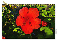 Rich Red  Carry-all Pouch