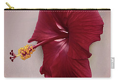 Carry-all Pouch featuring the photograph Rich Red by Judy Hall-Folde
