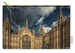 Carry-all Pouch featuring the photograph Richard The Lionheart by Adrian Evans