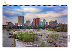 Carry-all Pouch featuring the photograph Richmond Skyline by Rick Berk
