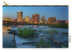 Carry-all Pouch featuring the photograph Richmond Twilight by Rick Berk