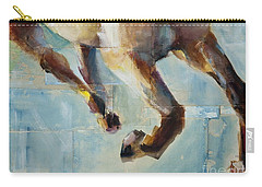 Ride Like You Stole It Carry-all Pouch by Frances Marino