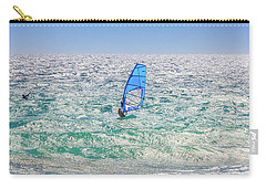 Carry-all Pouch featuring the photograph Ride The Waves, Scarborough Beach by Dave Catley