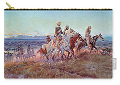 Riders Of The Open Range Carry-all Pouch